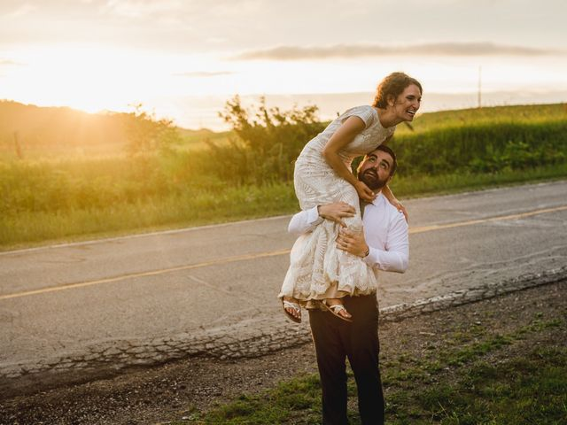 Cliff and Corey's Wedding in Boyne City, Michigan 5