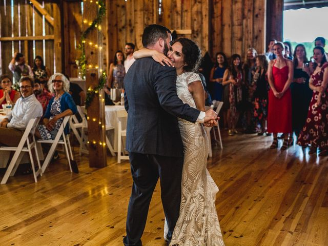 Cliff and Corey's Wedding in Boyne City, Michigan 6