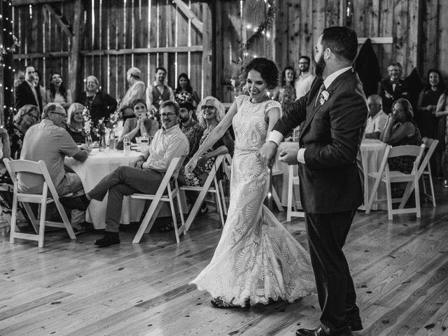 Cliff and Corey's Wedding in Boyne City, Michigan 7