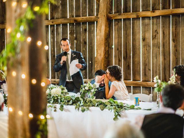 Cliff and Corey's Wedding in Boyne City, Michigan 9