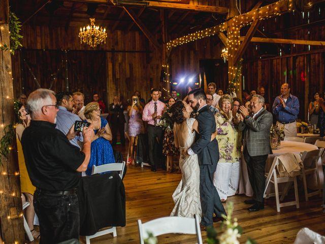 Cliff and Corey's Wedding in Boyne City, Michigan 12
