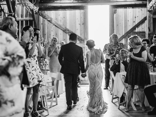 Cliff and Corey's Wedding in Boyne City, Michigan 23