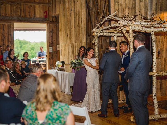 Cliff and Corey's Wedding in Boyne City, Michigan 25