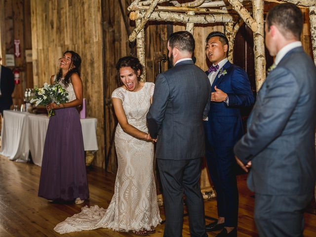 Cliff and Corey's Wedding in Boyne City, Michigan 27