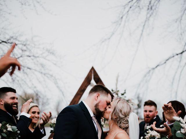 Beau and Timber's Wedding in Ashland, Ohio 1