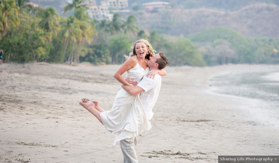 Michael and Claire's Wedding in Playa Ocotal, Costa Rica
