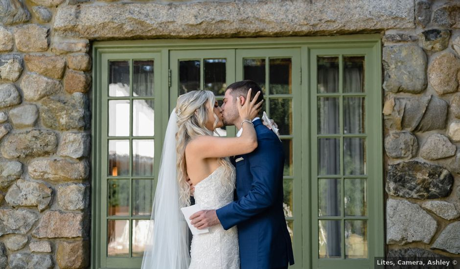 Dan and Lauren's Wedding in Topsfield, Massachusetts