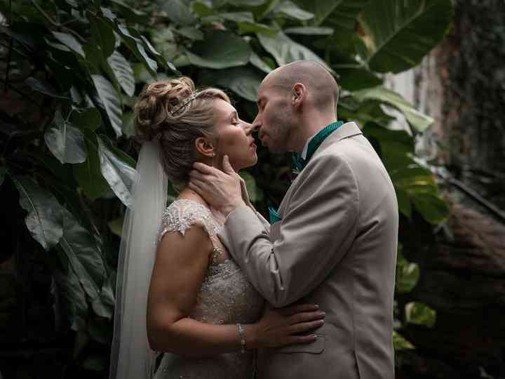 The wedding of Victoria and Mike