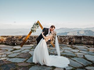 The wedding of Brianna  and Kurt