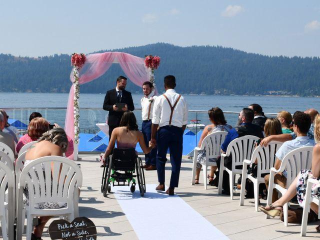 David and Courtney's Wedding in Coeur D Alene, Idaho 12