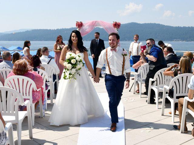 David and Courtney's Wedding in Coeur D Alene, Idaho 2