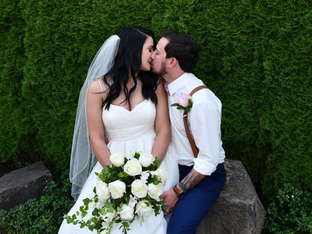 The wedding of Courtney and David