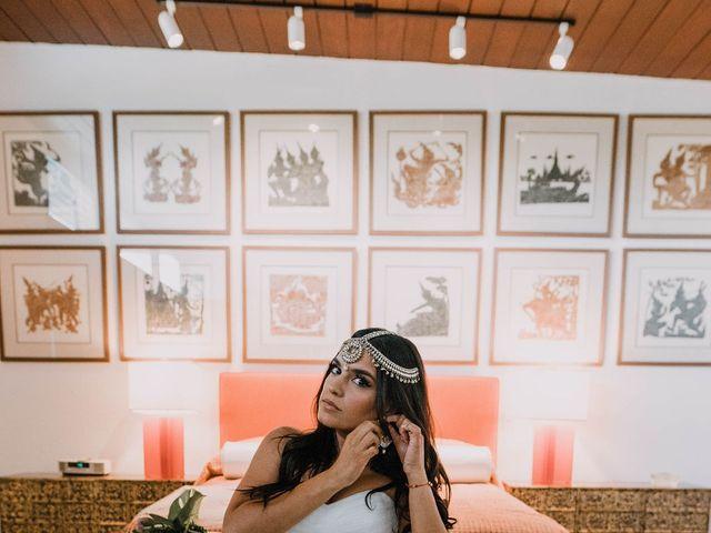 Barrett  and Kiran 's Wedding in Palm Springs, California 14