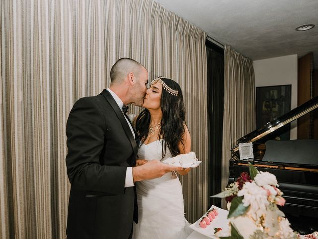 The wedding of Kiran  and Barrett