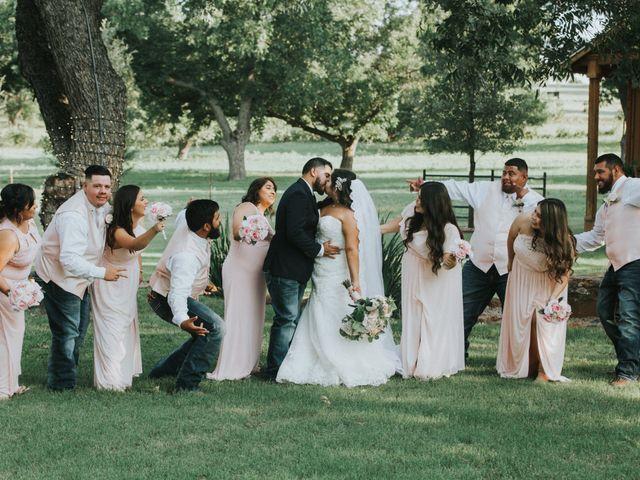 Oscar Deleija and Cristina Olvera's Wedding in Azle, Texas 35