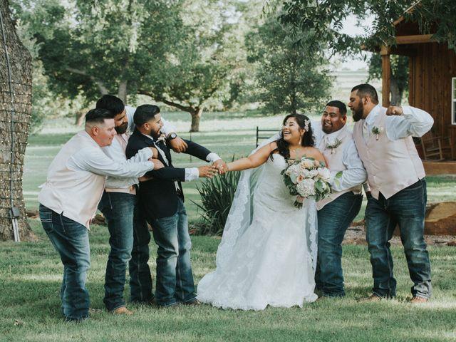 Oscar Deleija and Cristina Olvera's Wedding in Azle, Texas 39
