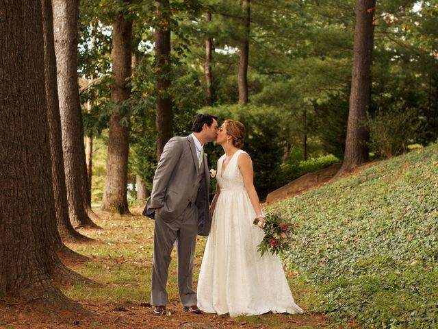Andrew and Laura's Wedding in Asheville, North Carolina 3