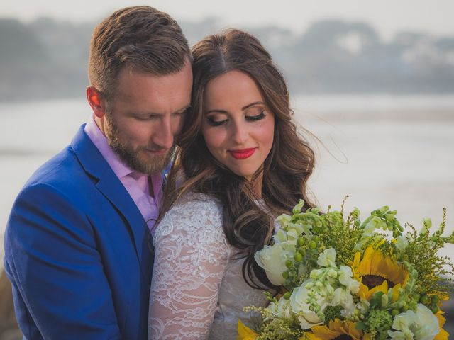 The wedding of Sam and Masha