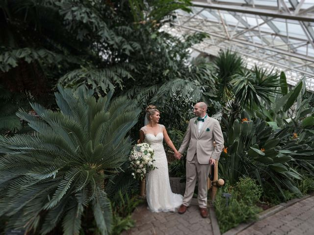 Mike and Victoria's Wedding in Fort Wayne, Indiana 27
