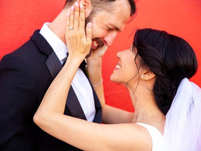The wedding of Seth and Christina