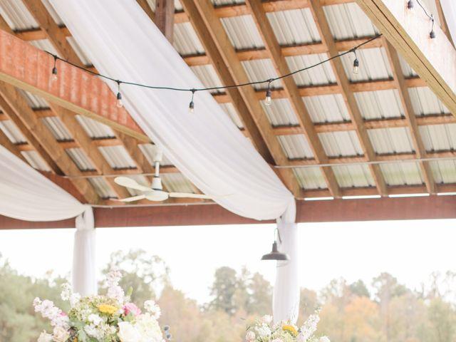 Harrison and Bre's Wedding in Bear Creek, North Carolina 3
