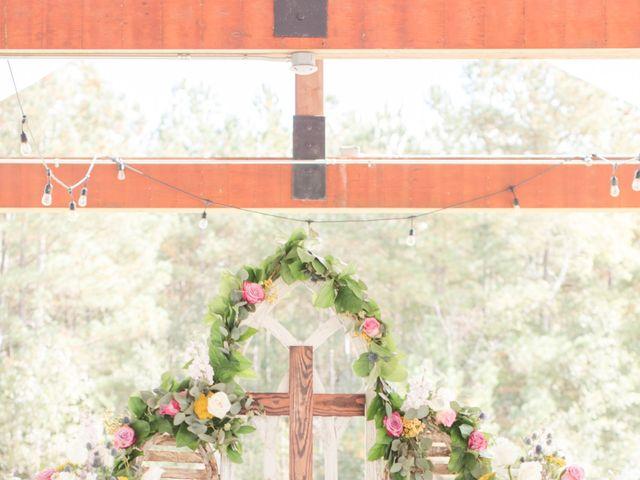 Harrison and Bre's Wedding in Bear Creek, North Carolina 7