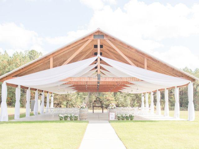 Harrison and Bre's Wedding in Bear Creek, North Carolina 8