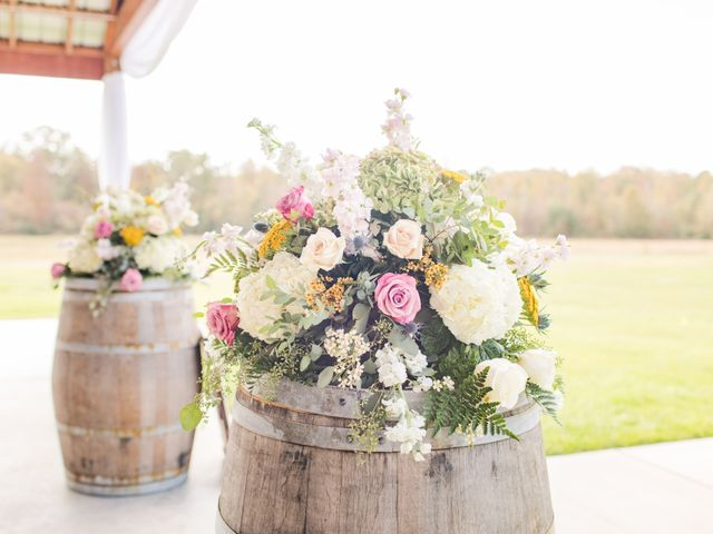 Harrison and Bre's Wedding in Bear Creek, North Carolina 11