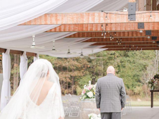 Harrison and Bre's Wedding in Bear Creek, North Carolina 57