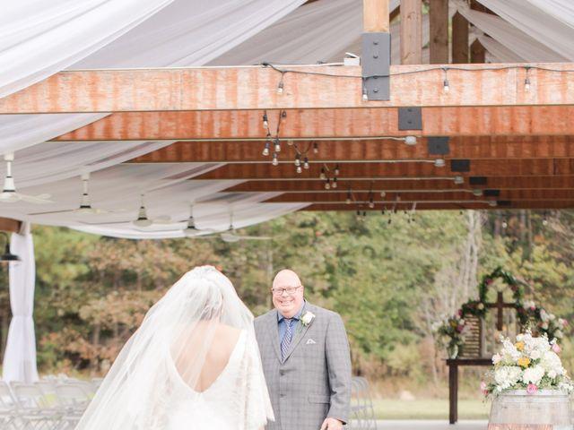 Harrison and Bre's Wedding in Bear Creek, North Carolina 58