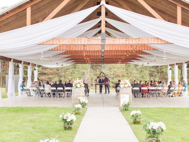 Harrison and Bre's Wedding in Bear Creek, North Carolina 92