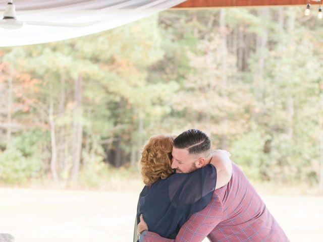 Harrison and Bre's Wedding in Bear Creek, North Carolina 93