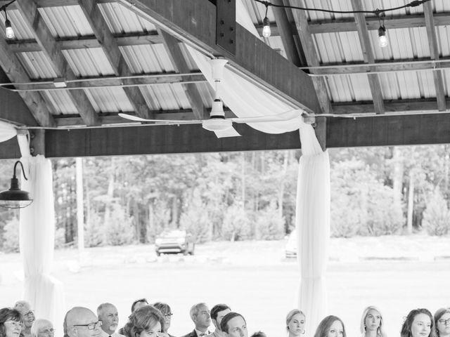 Harrison and Bre's Wedding in Bear Creek, North Carolina 96
