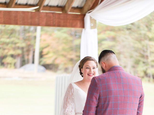 Harrison and Bre's Wedding in Bear Creek, North Carolina 97