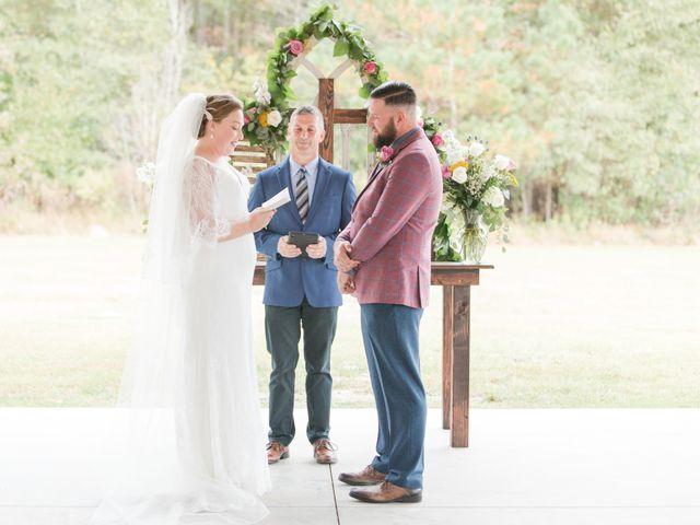 Harrison and Bre's Wedding in Bear Creek, North Carolina 98