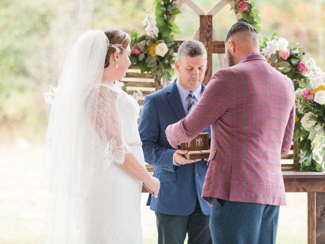 Harrison and Bre's Wedding in Bear Creek, North Carolina 99