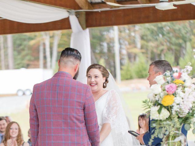 Harrison and Bre's Wedding in Bear Creek, North Carolina 102
