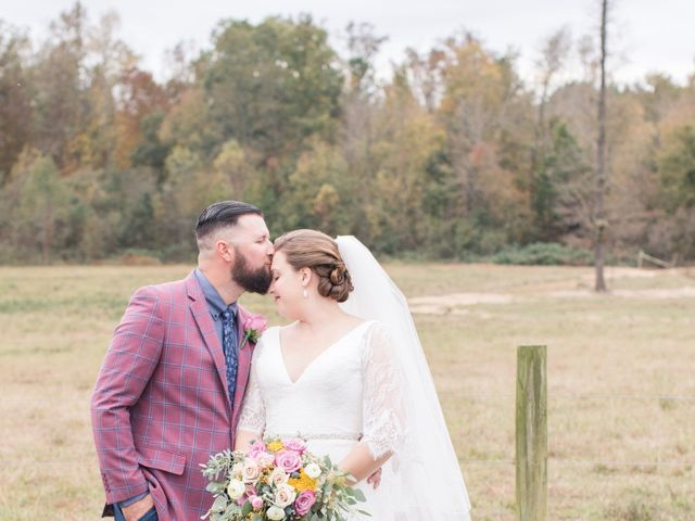 Harrison and Bre's Wedding in Bear Creek, North Carolina 105