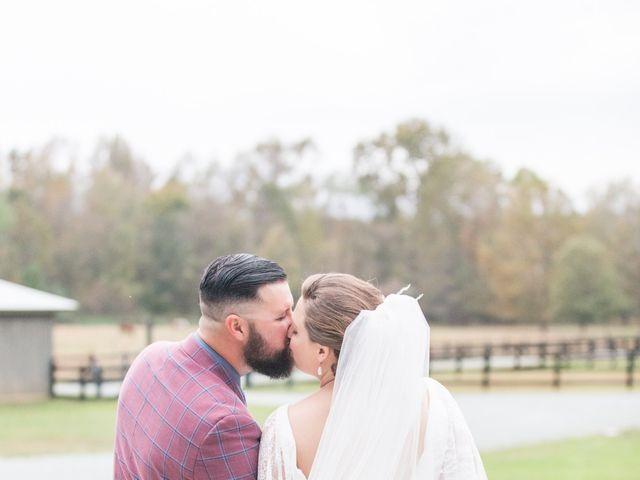 Harrison and Bre's Wedding in Bear Creek, North Carolina 115