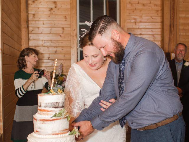 Harrison and Bre's Wedding in Bear Creek, North Carolina 147