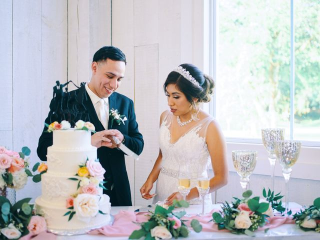 Alejandro and Crystal's Wedding in Wallisville, Texas 14