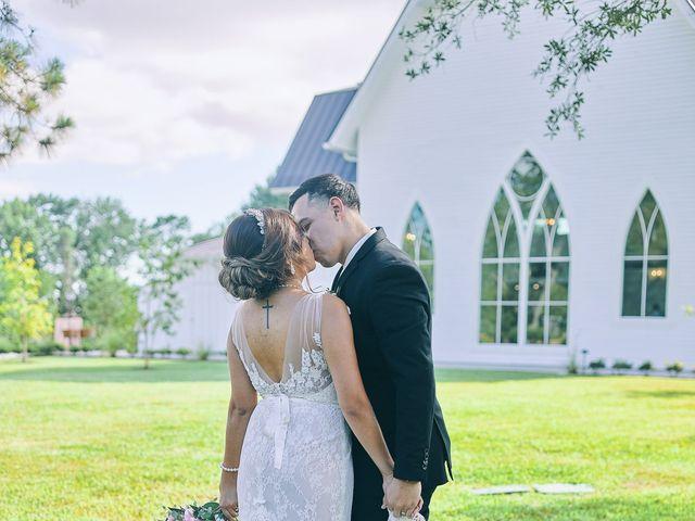 Alejandro and Crystal's Wedding in Wallisville, Texas 56