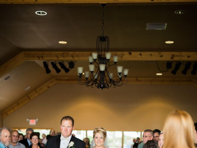 Emily and Josh's Wedding in Curtis, Michigan 8