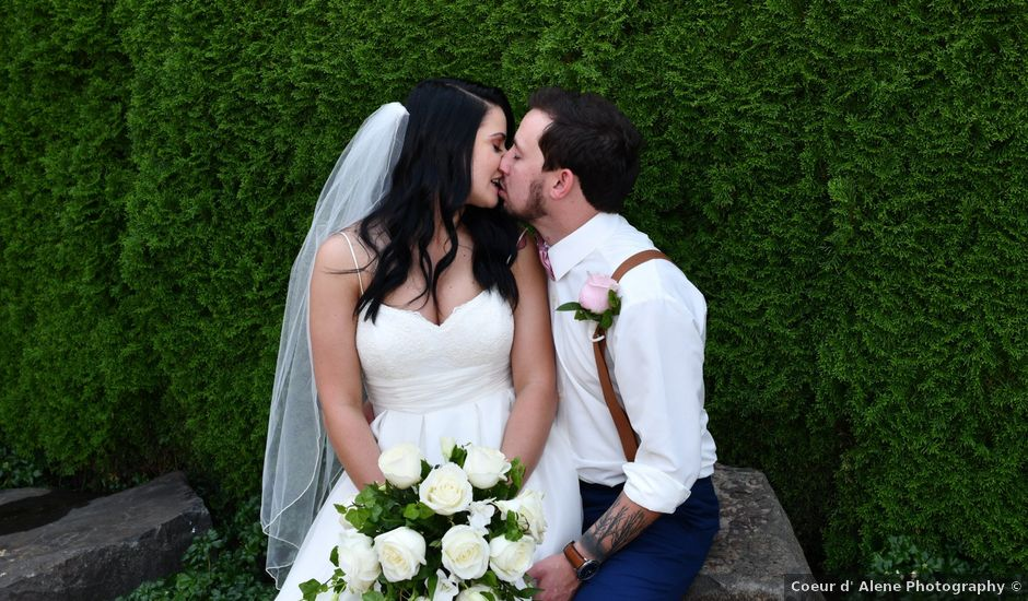 David and Courtney's Wedding in Coeur D Alene, Idaho
