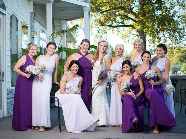 Olivia and Lou's Wedding in Essex, Maryland 6