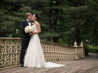 The wedding of Kimberly and Christian