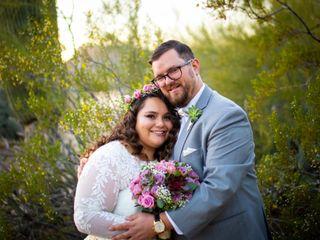 The wedding of Michael and Sara