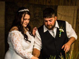 The wedding of Sabrina and Cody