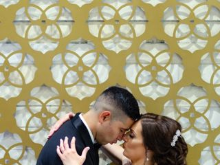 The wedding of Dena and Jesus 1