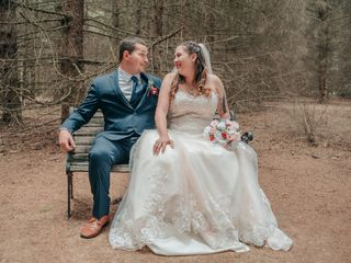 The wedding of McKenzie and Richard 3